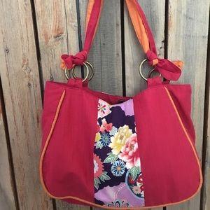 Handbags - Bochi Flower patterned shoulder bag